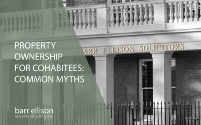 Property ownership for cohabitees – common myths