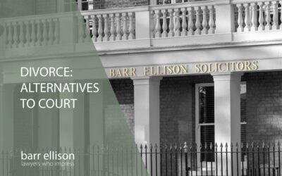 Divorce: Alternatives to Court