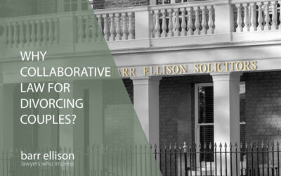 Why Collaborative Law for Divorcing Couples?