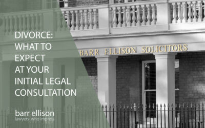 Divorce & Family: What to Expect at Your Initial Legal Consultation