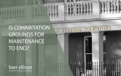 Is Cohabitation Grounds for Maintenance to End?