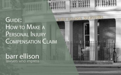 How to Make a Personal Injury Claim for Compensation