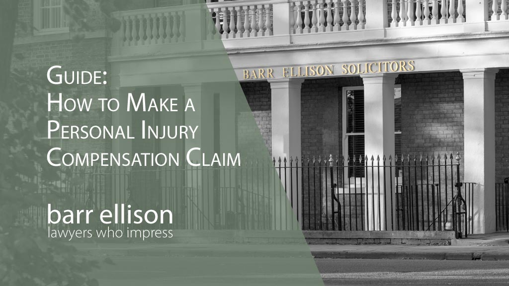 Guide How to Make a Personal Injury Compensation Claim
