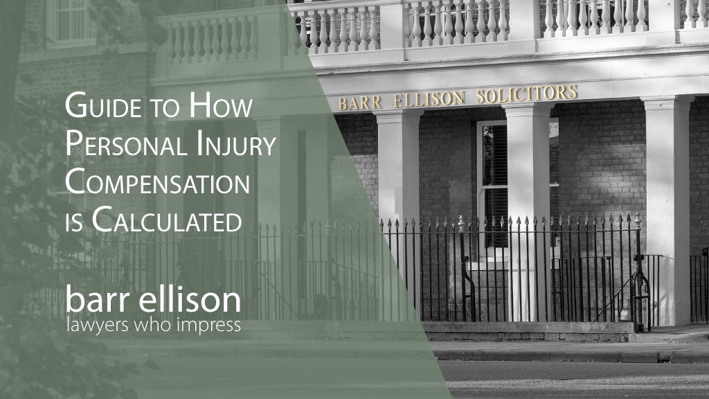 Guide to How Personal Injury Compensation is Calculated