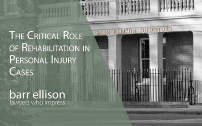 Early Rehabilitation is Critical