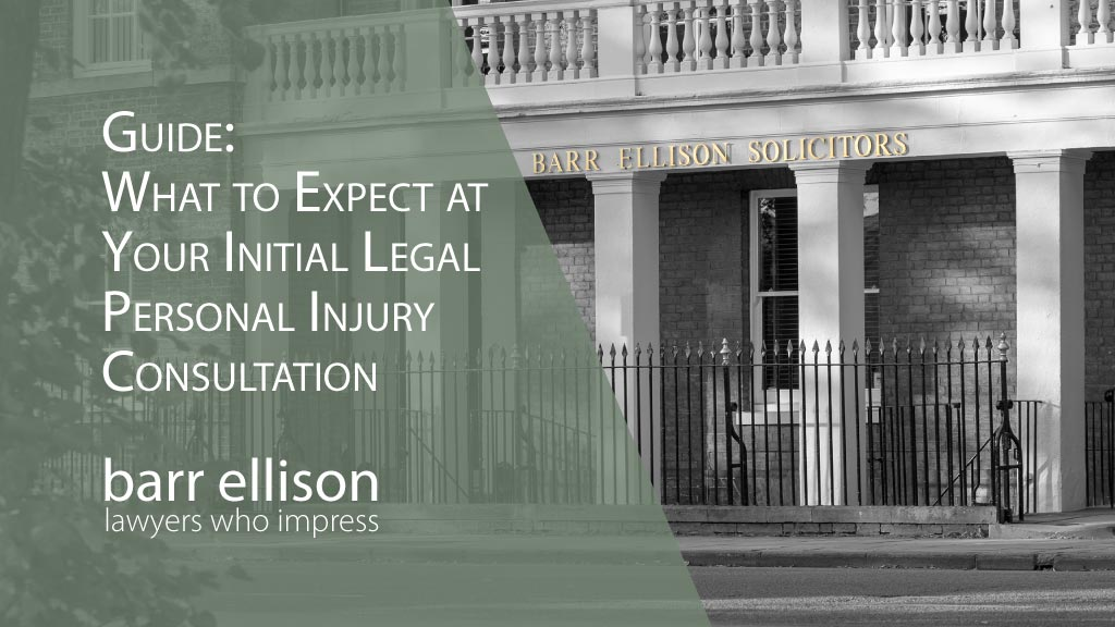 Personal Injury Free Initial Legal Consultation