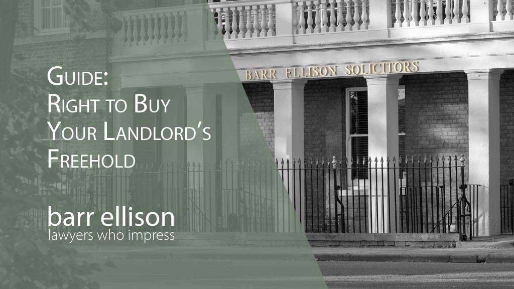Guide - Right to Buy Your Landlord's Freehold